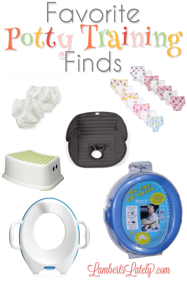 Great list of products if you're trying the 3 Day Potty Training Method with your toddler!