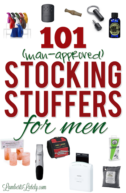 101 Stocking Stuffers For Men Lamberts Lately