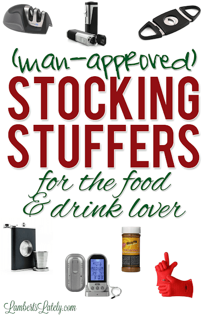 List of man-approved stocking stuffer ideas for men…prices range from under $5 to more pricey, and gift ideas could be used for fathers, boyfriends, or husbands! This list even breaks ideas down into categories (handy man, gamer, techie, etc.). Great list of gifts that could be used year-round!