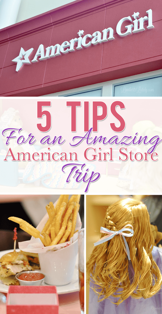 Get tips for a great American Girl store trip - includes info on the bistro, the American Girl package at hotels, & how to enjoy dolls in store. (Houston, TX)