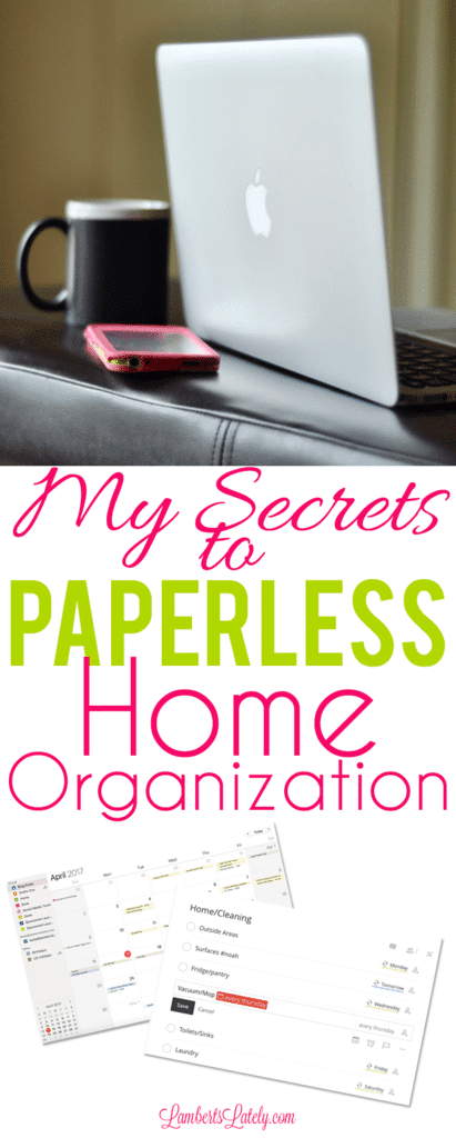 Grab tips for establishing Paperless Home Organization - great for use in a home office too Get tips and ideas for using Evernote, organizing your day, and utilizing iPhone apps.