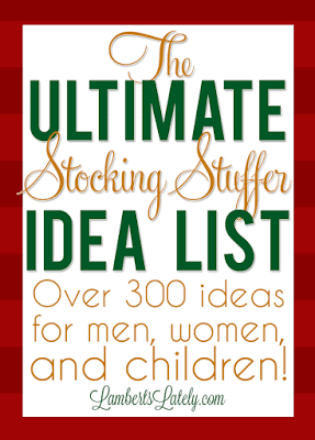 huge list of over 300 stocking stuffers for the whole family including babies toddlers - Stocking Stuffer Idea