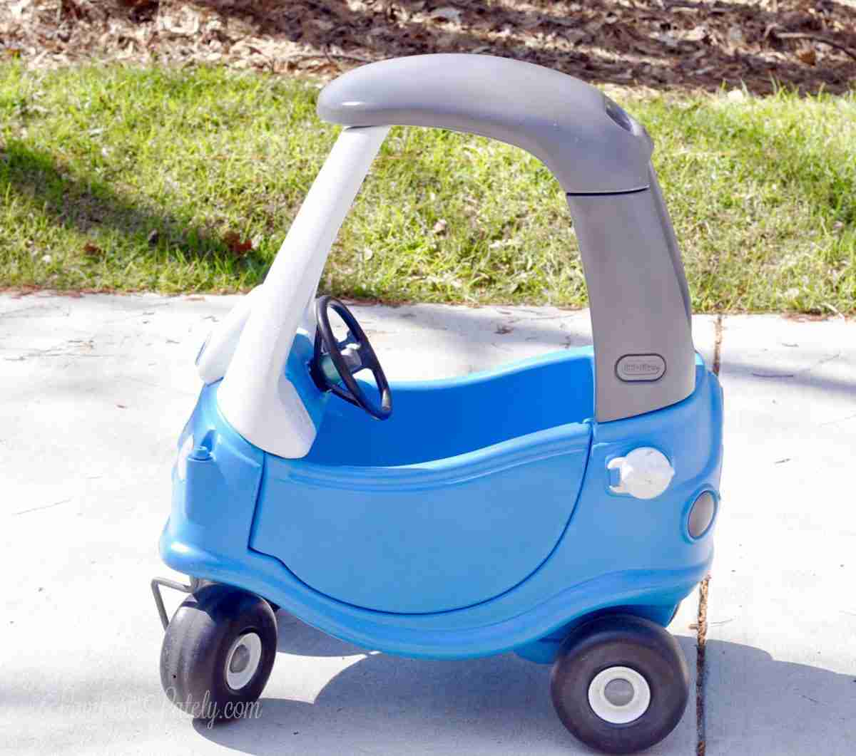 Little Tikes Cozy Coupe Car Makeover Lamberts Lately