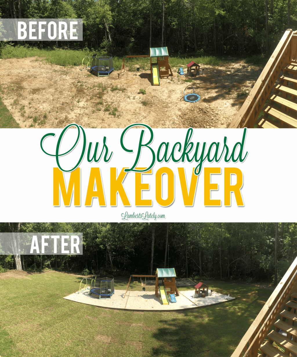 Check out the before and after of our backyard makeover, including how we incorporated an area for kids, a veggie garden, and landscaping that maximizes the space!