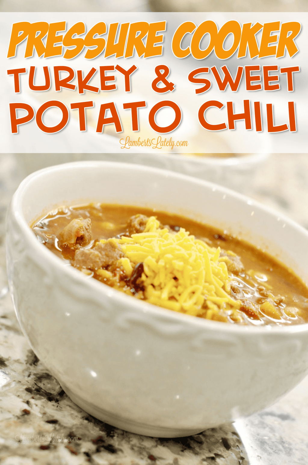 This Pressure Cooking Turkey & Sweet Potato Chili is a healthy alternative to the traditional recipe - loaded with rich tomato flavor and can be prepped in the Instant Pot!