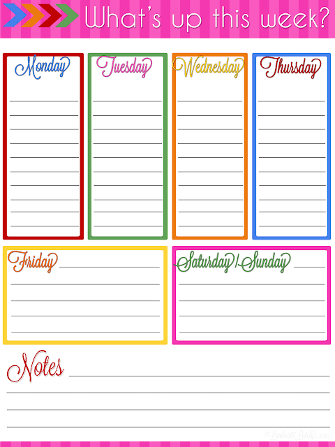 Ultimate planner notebook add on weekly planner printable for Online planner