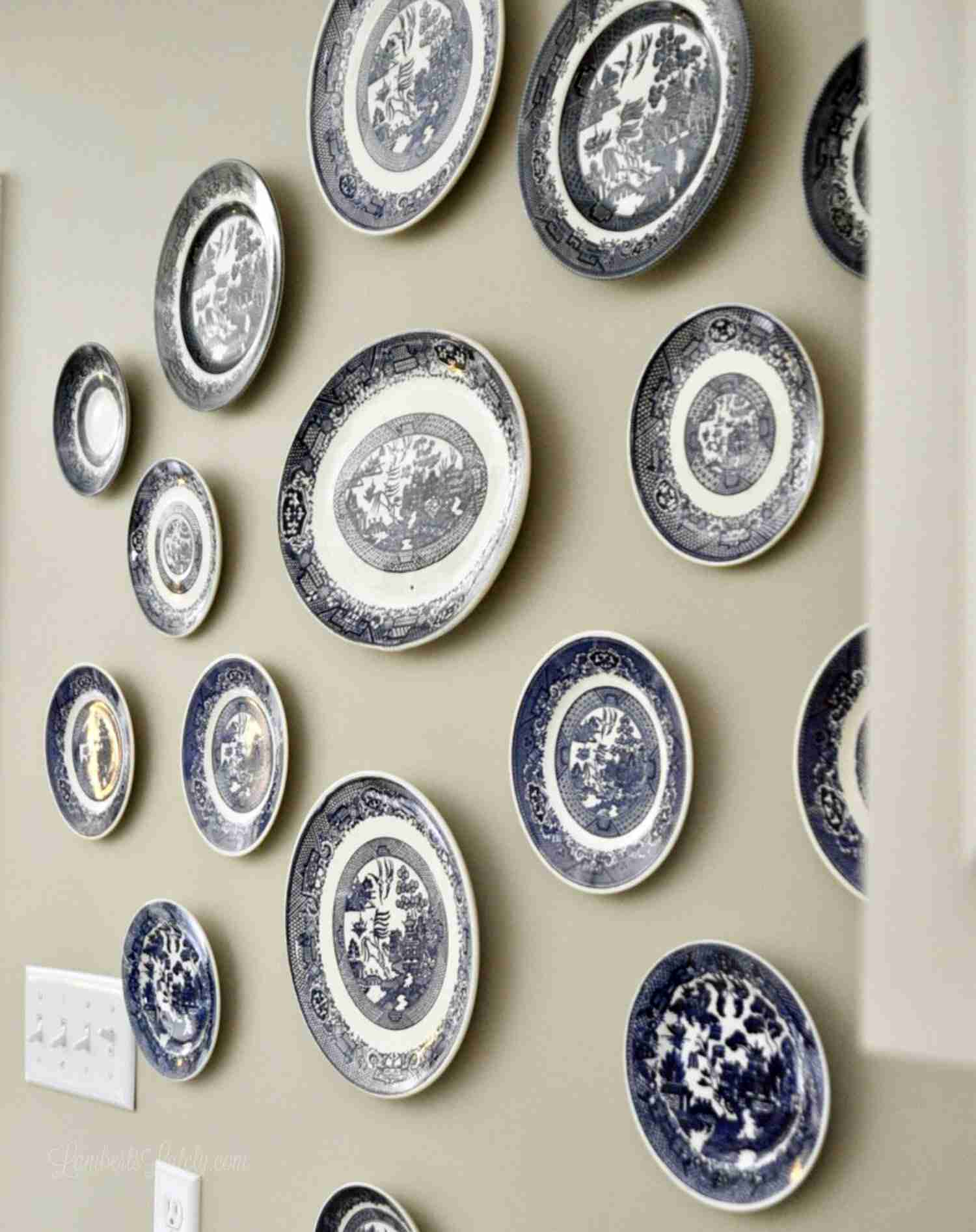 How To Hang Plates In A Gallery Wall Lamberts Lately