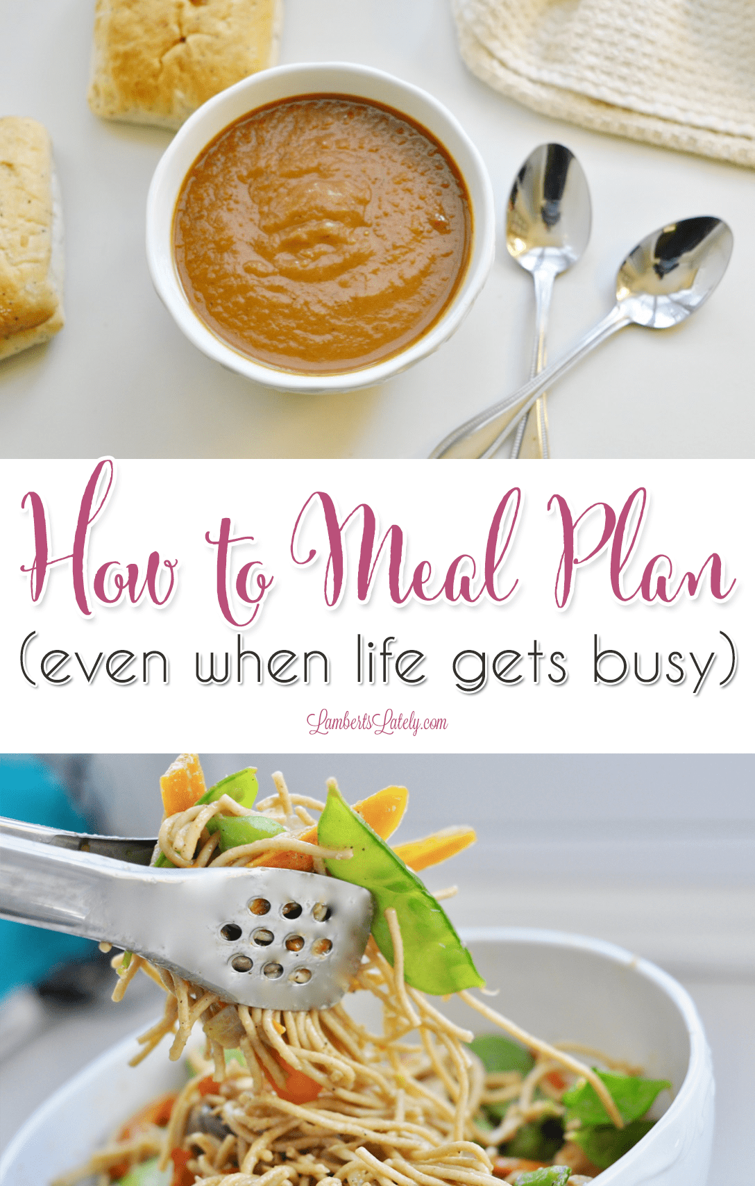 Trying to figure out how to meal plan for the week or month when life is busy?  This list of tips and tricks helps you get healthy dinners on the table as easily as possible - even includes a printable organizer!
