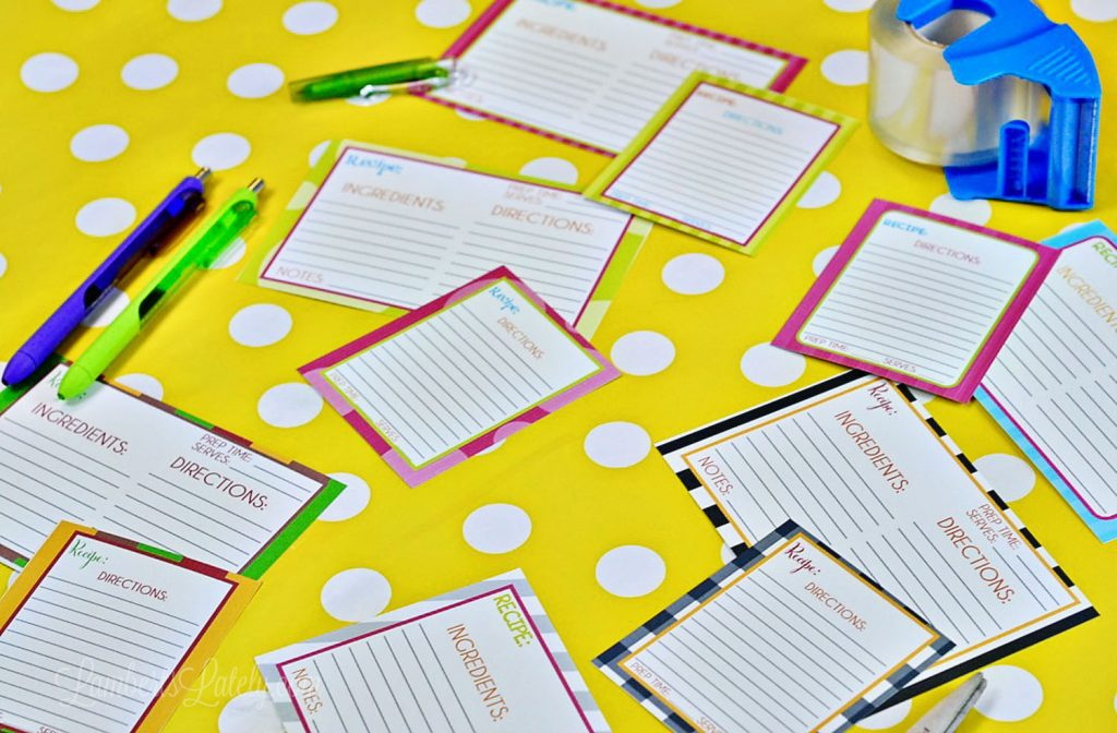 the ultimate recipe card collection over 40 free