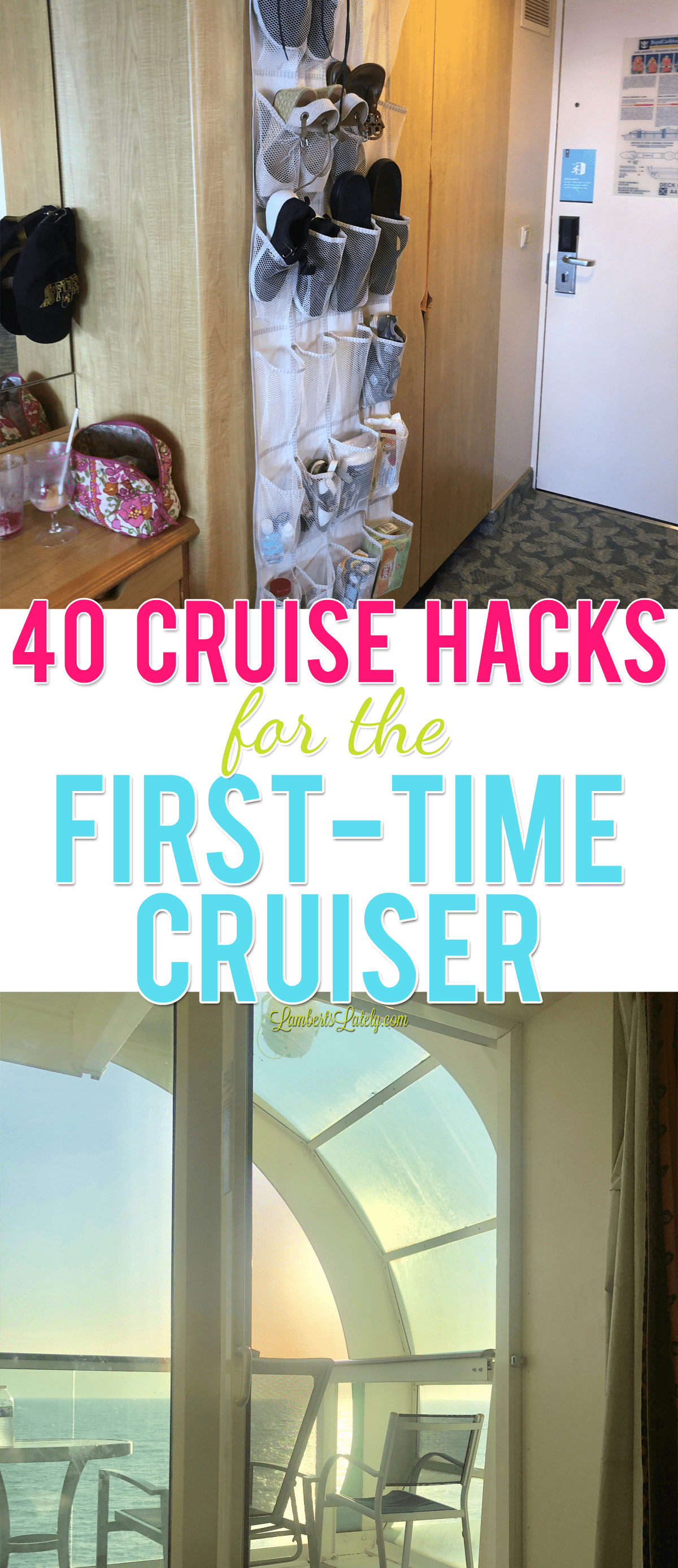 Planning a first-time cruise on Royal Caribbean, Carnival, or Norwegian soon? This post has cruise hacks and tips that show how to save money, optimize alcohol and dining prices, and ideas for packing organizational tools to make your cruise vacation easy and fun!