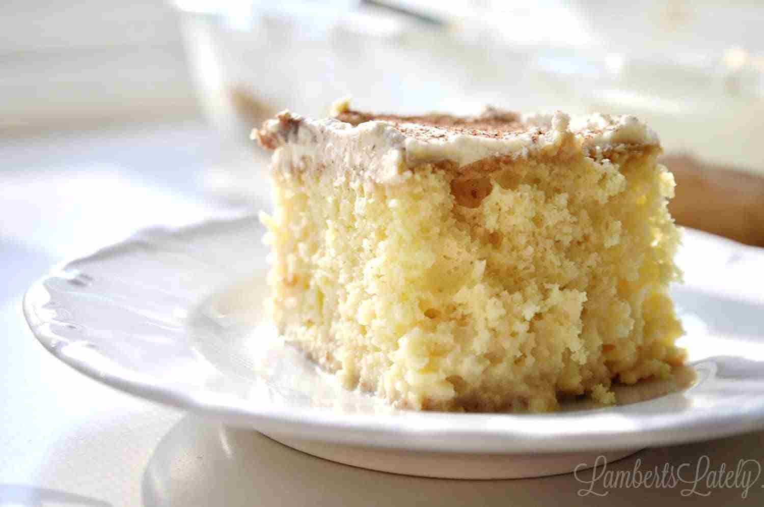 Need a shortcut recipe for Tres Leches Cake? This post shows you how to make it the easy way, with simple ingredients like boxed cake mix.