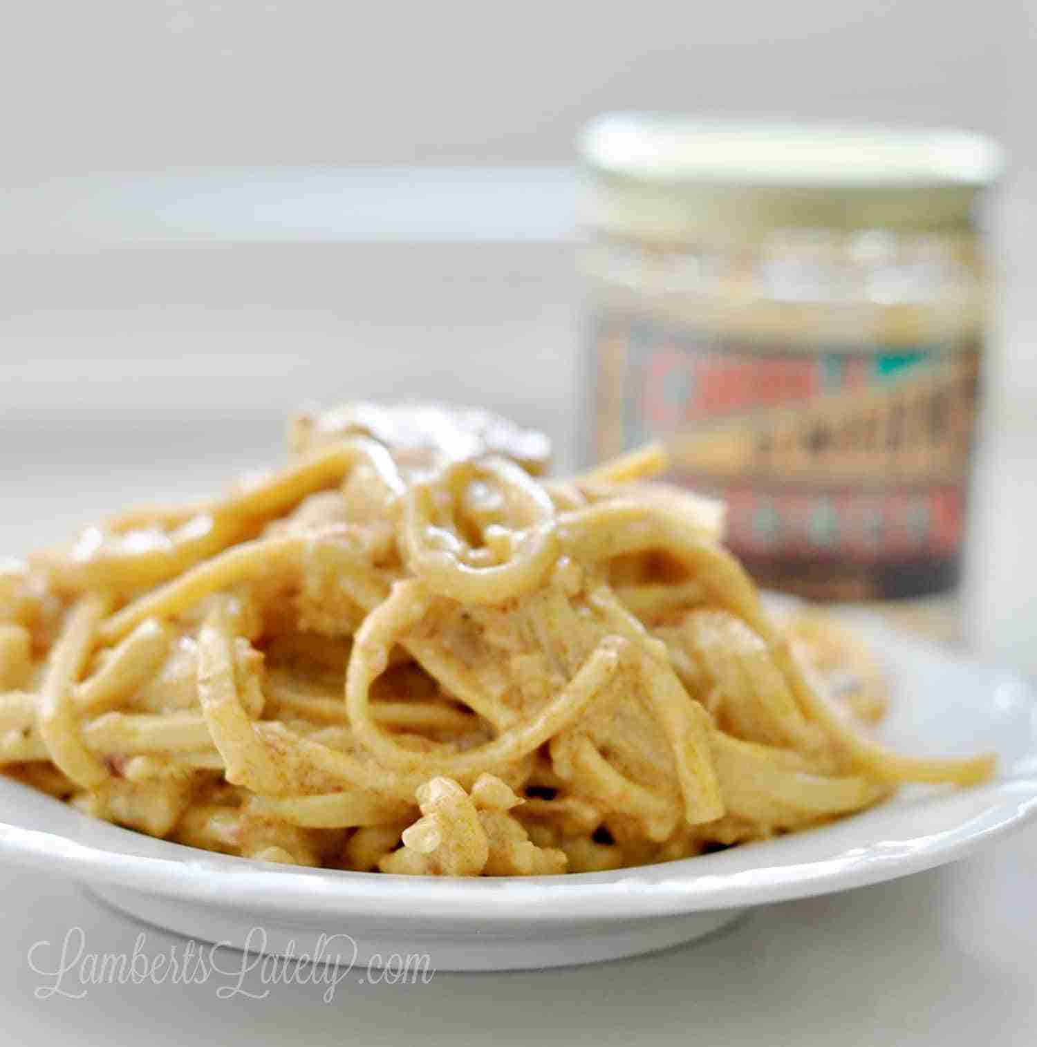 Chili Onion Crunch Chicken Pasta uses the popular Trader Joe's sauce to make a spicy, creamy noodle dish in just minutes with an Instant Pot! One of the best uses for this condiment is in pasta recipes - try it with shrimp or other seafoods for a fun twist.