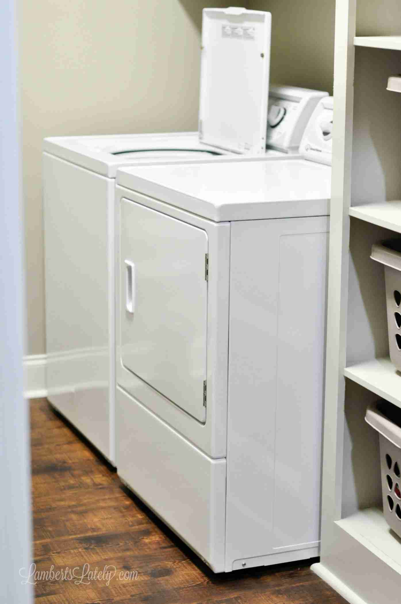 This tutorial for how to deep clean a dryer shows how to get lint out of the lint trap, vent, and hose. Can be used for all kinds of dryers (this one shows a Speed Queen).