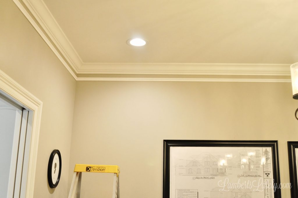 install diy faux thick crown molding