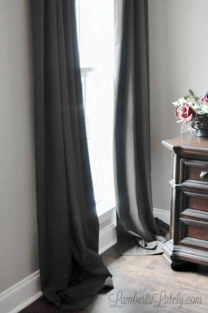 Use this no-sew method for how to hem curtains to make the drapes in your home look beautiful! This easy tutorial shows how you can use hem tape to shorten curtains without sewing.