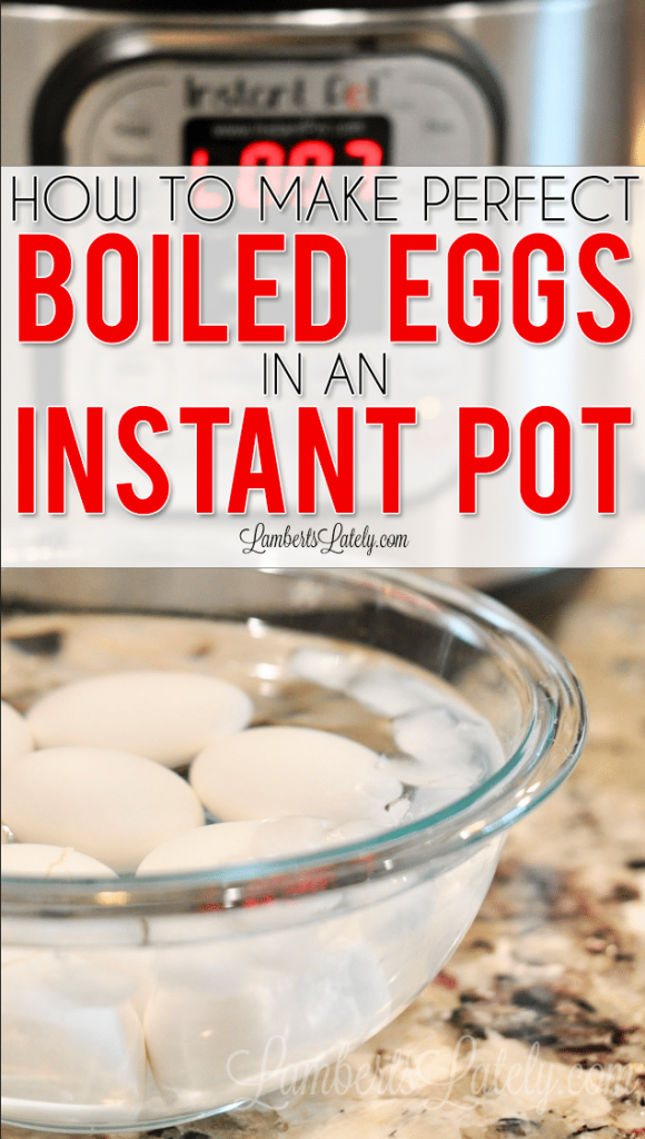 This post shows how to make perfect boiled eggs in an Instant Pot by using the 5-5-5 method. Make a great, high protein breakfast/snack - and they're easy to peel!
